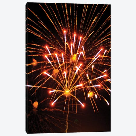 Fireworks XXVIII Canvas Print #LRU8} by Doug LaRue Canvas Art Print