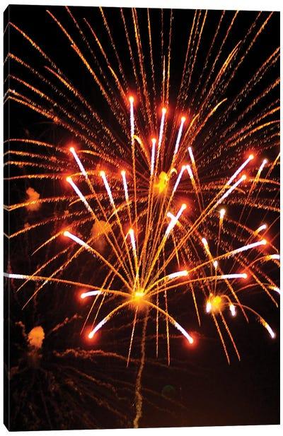 Fireworks XXVIII Canvas Art Print
