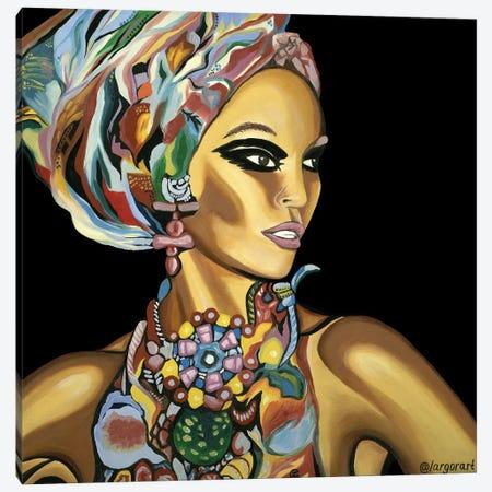 Hey, Darling! Let's Dance! Canvas Print #LRV20} by Larisa Lavrova Canvas Wall Art