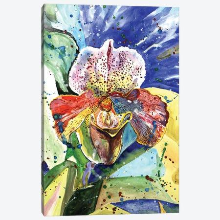 Wild Orchid Canvas Print #LRV26} by Larisa Lavrova Canvas Art Print