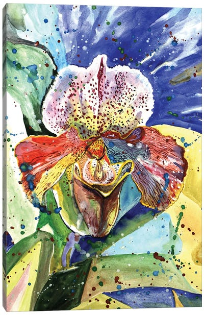 Wild Orchid Canvas Art Print