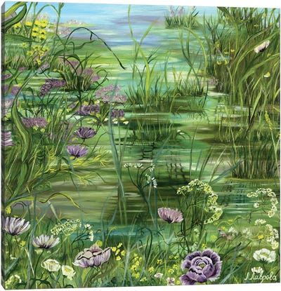 Pond Canvas Art Print