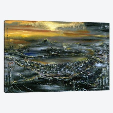 The Bronze Sundown Canvas Print #LRV30} by Larisa Lavrova Canvas Art Print