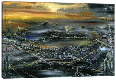 The Bronze Sundown Canvas Art Print