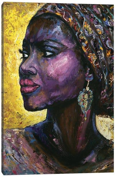 Violet Arabica Canvas Art Print