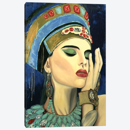 Mistress Of The Sands Of Time Canvas Print #LRV37} by Larisa Lavrova Canvas Wall Art