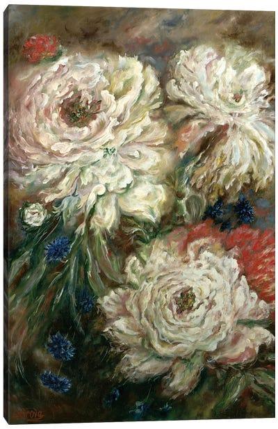 Peonies Canvas Art Print