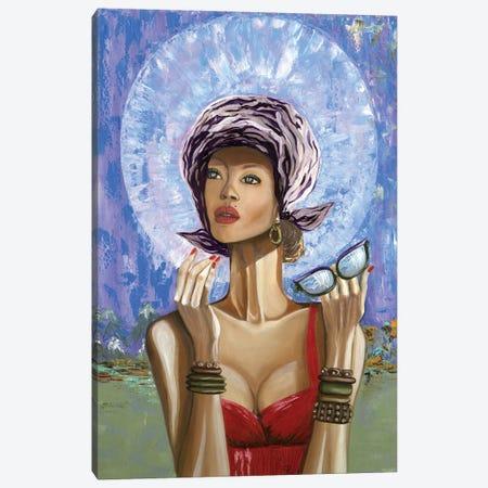 Madonna Canvas Print #LRV41} by Larisa Lavrova Canvas Art