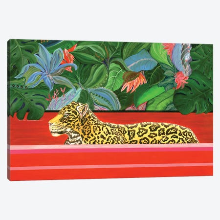 The King Of The Jungle Canvas Print #LRV44} by Larisa Lavrova Canvas Print