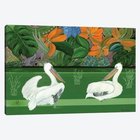 Green River Canvas Print #LRV45} by Larisa Lavrova Canvas Print