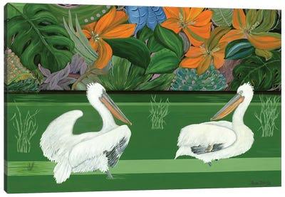 Green River Canvas Art Print