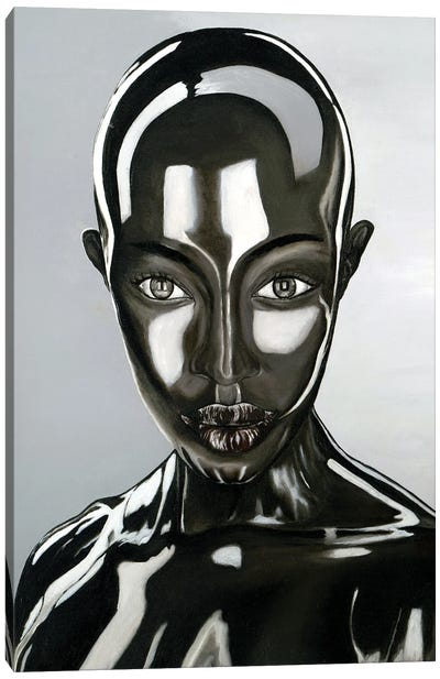 Alina Alien Canvas Art Print