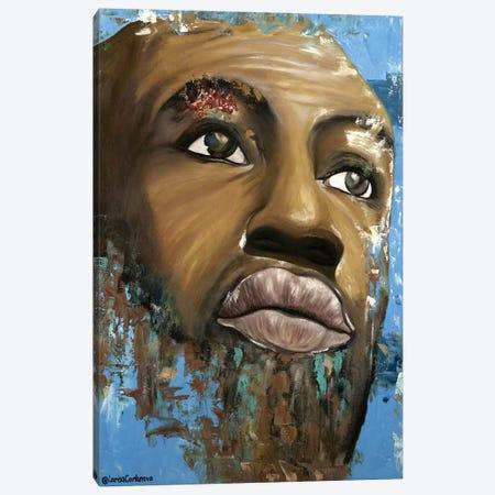 Arabica Man Canvas Print #LRV8} by Larisa Lavrova Canvas Art