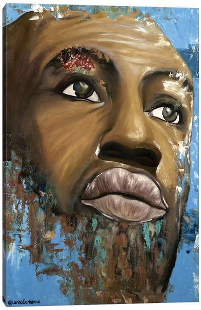 Arabica Man Canvas Art Print