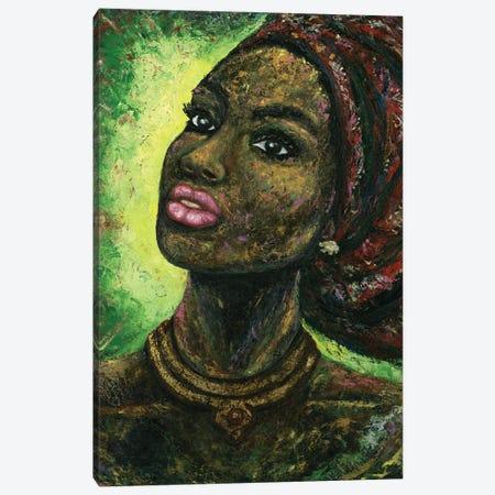 Arabica Woody Painting Canvas Print #LRV9} by Larisa Lavrova Canvas Art