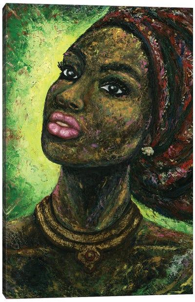 Arabica Woody Painting Canvas Art Print
