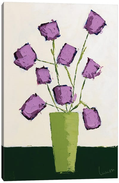 Fleur VIII-I Canvas Art Print