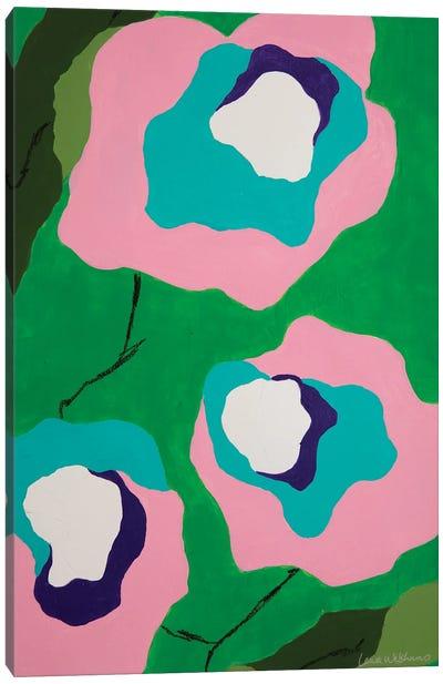 Flores de Papel II Canvas Art Print