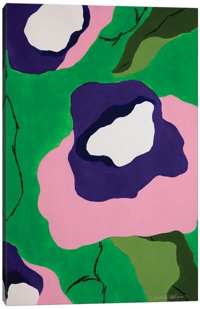 Flores de Papel V Canvas Art Print