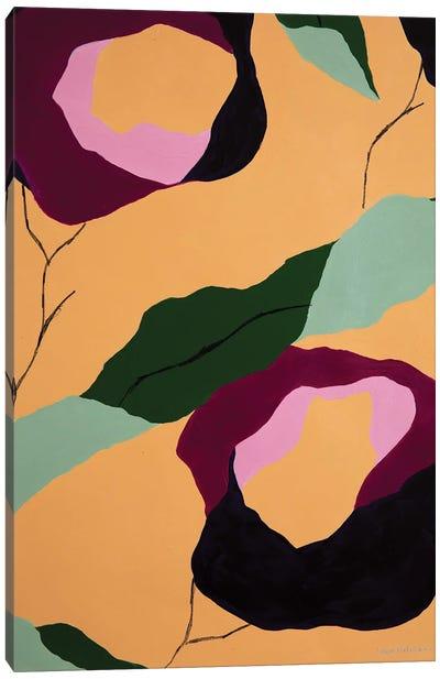 Flores de Papel IX Canvas Art Print