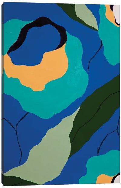 Flores de Papel X Canvas Art Print