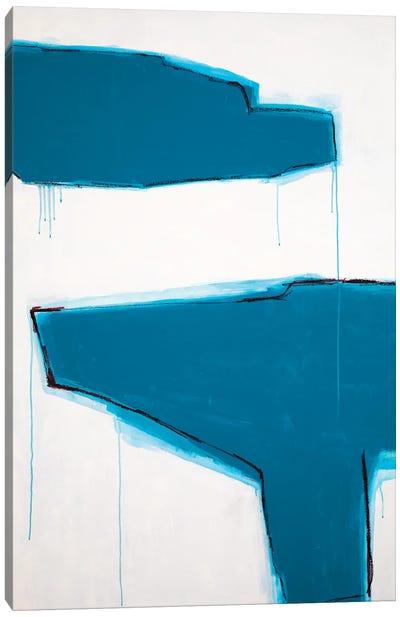 The Divide Canvas Art Print