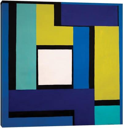 Window To The World Canvas Art Print