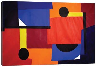 Circle Takes Square Canvas Art Print