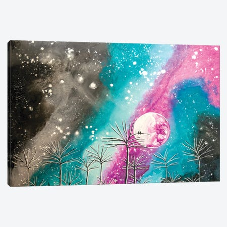Wondrous Night Canvas Print #LRX100} by Amber Lamoreaux Art Print