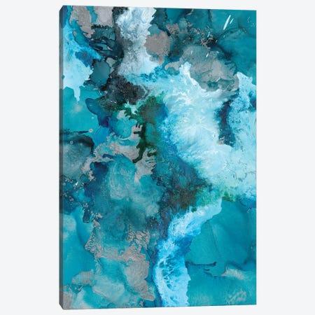 Arctic Blue Canvas Print #LRX52} by Amber Lamoreaux Canvas Art Print