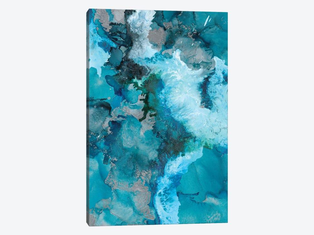 Arctic Blue by Amber Lamoreaux 1-piece Canvas Print