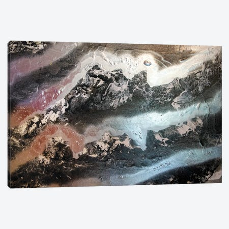 Black Granite V Canvas Print #LRX54} by Amber Lamoreaux Canvas Art