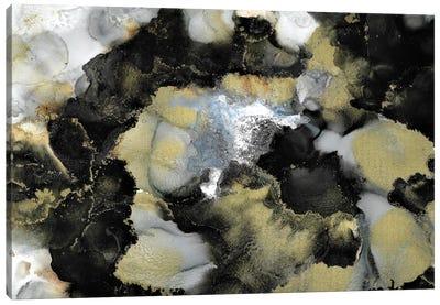 Black Marble III Canvas Art Print
