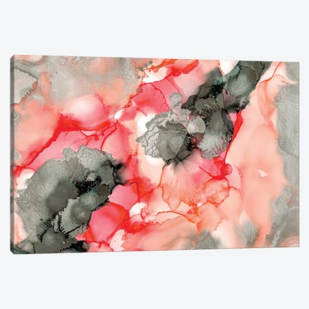 Coral Beauty Canvas Print #LRX60} by Amber Lamoreaux Canvas Art