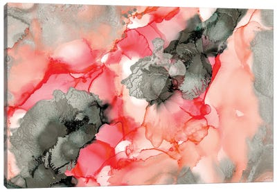 Coral Beauty Canvas Art Print