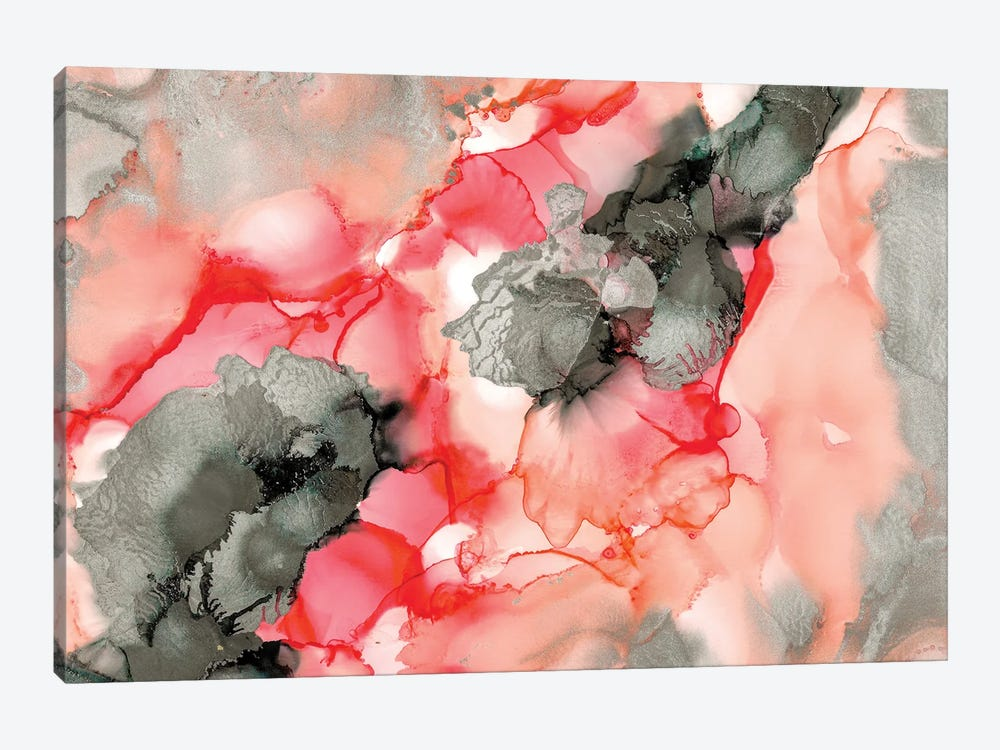 Coral Beauty by Amber Lamoreaux 1-piece Canvas Art