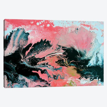Coral Overture Canvas Print #LRX63} by Amber Lamoreaux Canvas Wall Art