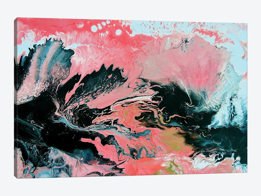 Coral Overture by Amber Lamoreaux 1-piece Canvas Art Print