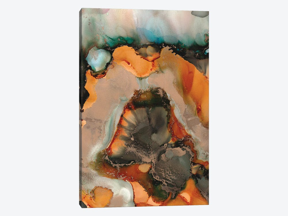 Melted Copper by Amber Lamoreaux 1-piece Canvas Art