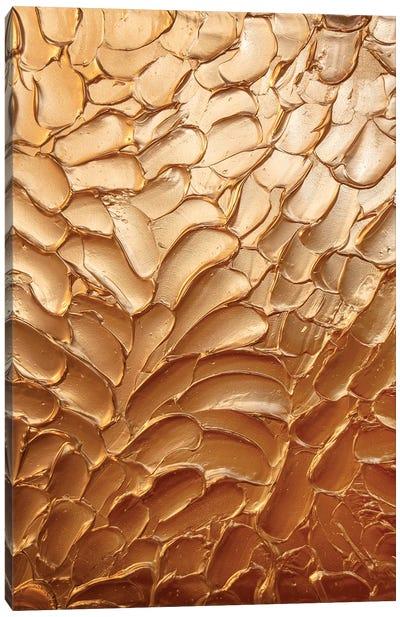 Metallic Copper Canvas Art Print