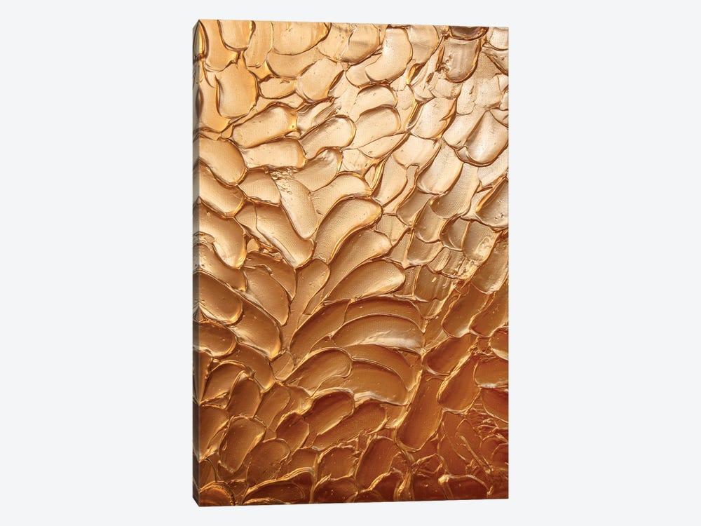 Metallic Copper by Amber Lamoreaux 1-piece Canvas Print
