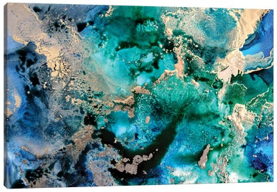 Ocean In A Minor Canvas Art Print