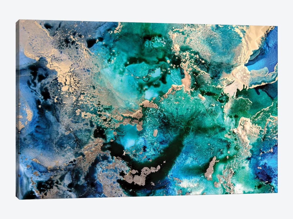 Ocean In A Minor by Amber Lamoreaux 1-piece Canvas Art