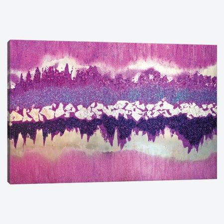Purple Shimmer Canvas Print #LRX88} by Amber Lamoreaux Canvas Artwork