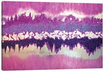 Purple Shimmer Canvas Art Print