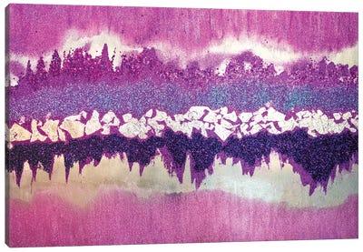 Purple Shimmer Canvas Art Print