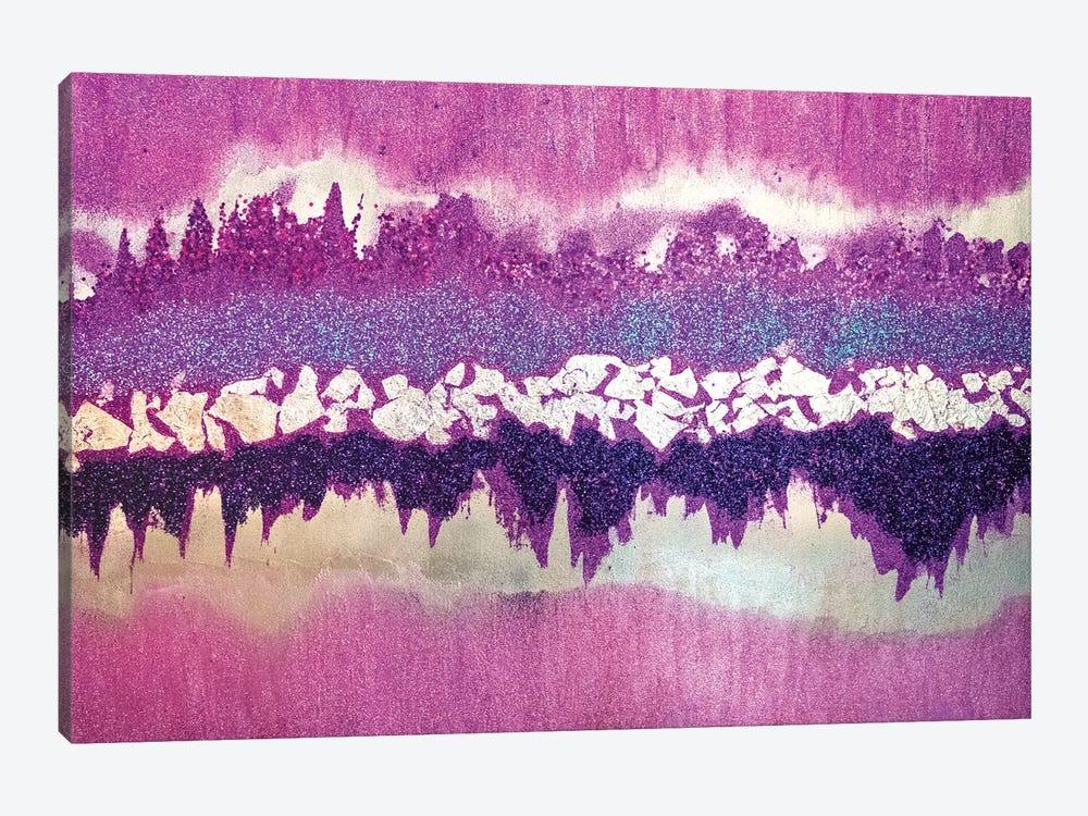 Purple Shimmer by Amber Lamoreaux 1-piece Canvas Art