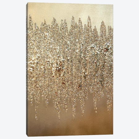 Silver Shimmer I Canvas Print #LRX89} by Amber Lamoreaux Canvas Artwork