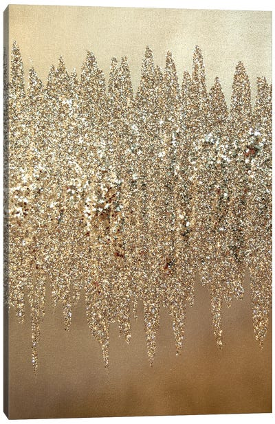 Silver Shimmer I Canvas Art Print
