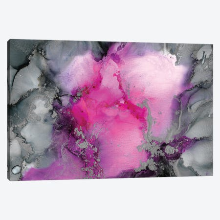 Stormy Pink Canvas Print #LRX92} by Amber Lamoreaux Canvas Art Print